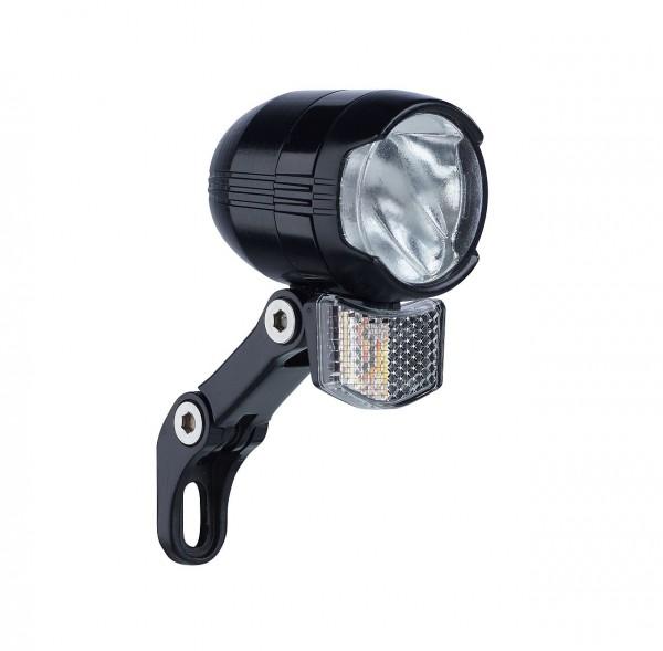 01256 LED Scheinwerfer Shiny 80 SL, 80 Lux, Schalter, Standlicht, Halter & Reflektor
