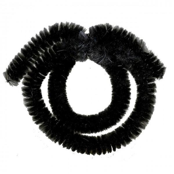 15310 Naben-Putz-Ringe VR = für Nady, HR = bis 7 Gang, Chinille, schwarz