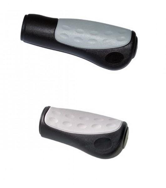08140 Ergonomiegriff, Ellipsis 438, Paar (125 + 92 mm), verstellbare Version, schwarz-grau