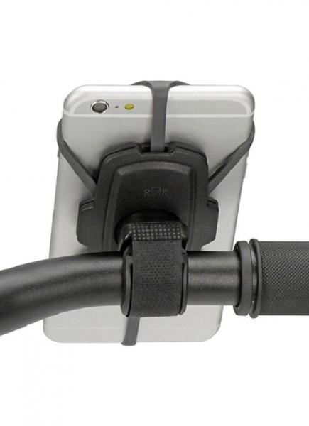 16769 Smartphone Halterung Loop, große Auflagefläche + Silicon Strechbändern, Klettband, 360° drehba