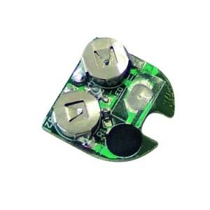 33600 Ersatz-Platine mit roter Led für LEVIOR-Helme mit Sicherheitsblinkleuchten/ Quicksafe