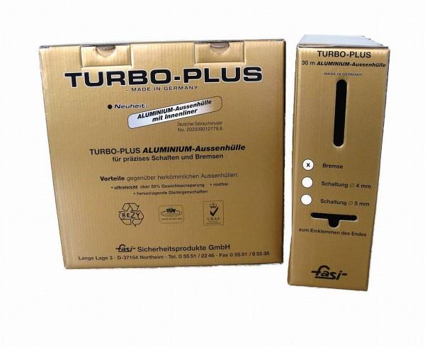 09342 Aussenhülle aus Aluminium für SCHALTZUG, Turbo Plus, + Innenliner, Ø 4 mm, 30 Meter WPV, sz