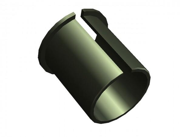 24754 Sattelstützbeilage, Wandstärke 1.5 mm, für Sattelrohr, schwarz