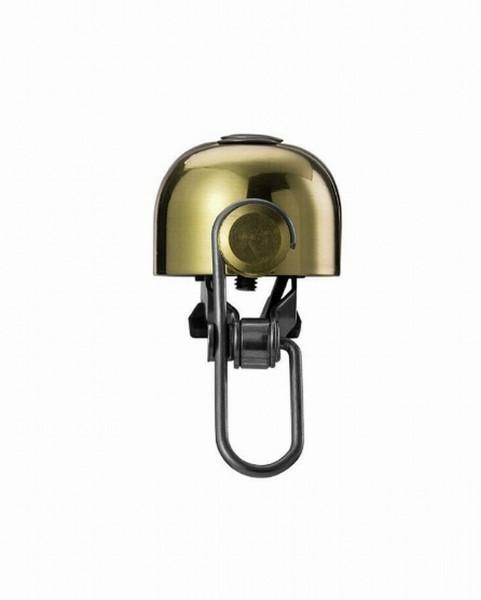 07314 Fahrradklingel Bella C-Yell, Mini-Fahrradglocke, Top Klang, 100 Dezibel, Ø 30 mm, Kupfer-Gold
