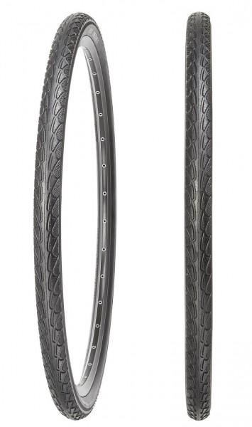 92270 Decke 47-622 (28 x 1.75, 700x45C) One-O-One T, Pannenschutz 3 mm, schwarz / Reflex, Kenda
