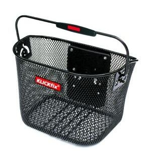 14115 VR-Korb Mini, Klick Fix, abnehmbar, 10 Liter, höhenverstellbar, schwarz