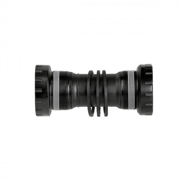 30339 Gewinde-Innenlager NECO Hollowtech II, 68 - 73 mm, für 24 mm Achse, Shimano kompatibel, ALU,