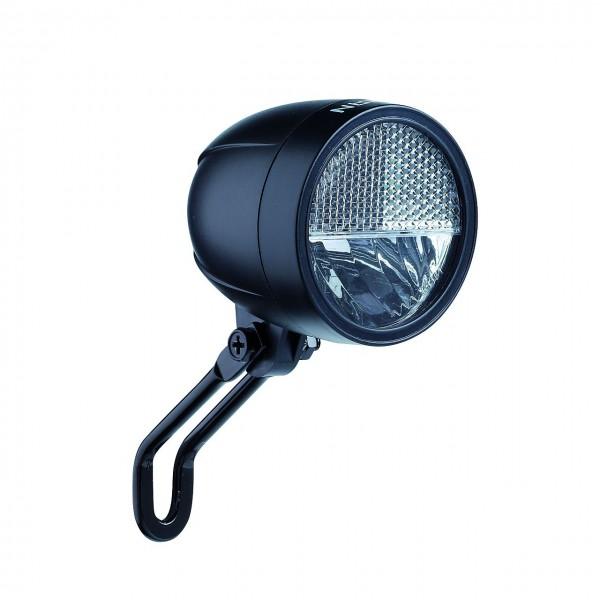 01219 Led Scheinwerfer 20 Lux, Schalter, Urban, Frontreflektor, auf Karte, schwarz