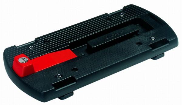 14256 Klickfix Gepäckträgeradapter (-platte), abschließbar, schwarz