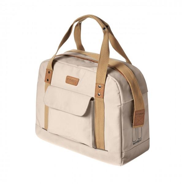 13432 Einzeltasche Business Bag Portland, 19 Liter, Trage/ Schulter-Gurt, creme