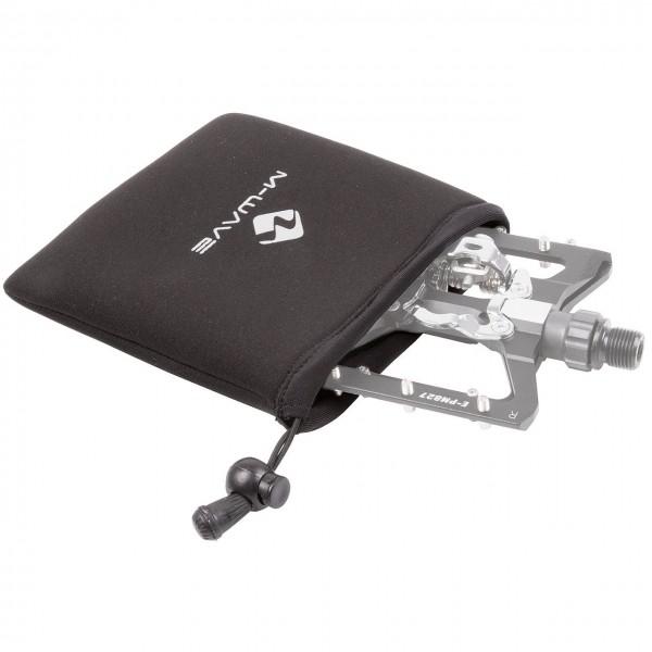 Transportschutztasche, für Pedale beim Transport, aus Neopren, 135 x 145 mm, schwarz