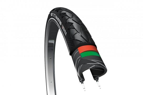 02377 Fahrrad-Decke 47-622 (28 x 1.75) CST SENSAMO MASTER, doppelter Pannenschutz, Reflex
