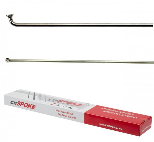 26615 Niro-Speichen, 100er Paket + Speichennippel, 2.00 x 286 mm, SCHWARZ