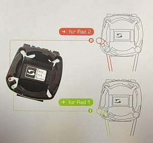 29203 Universalhalterung 2032, Topline bis 2012, für alle kabelgebundenen Fahrrad-Computer
