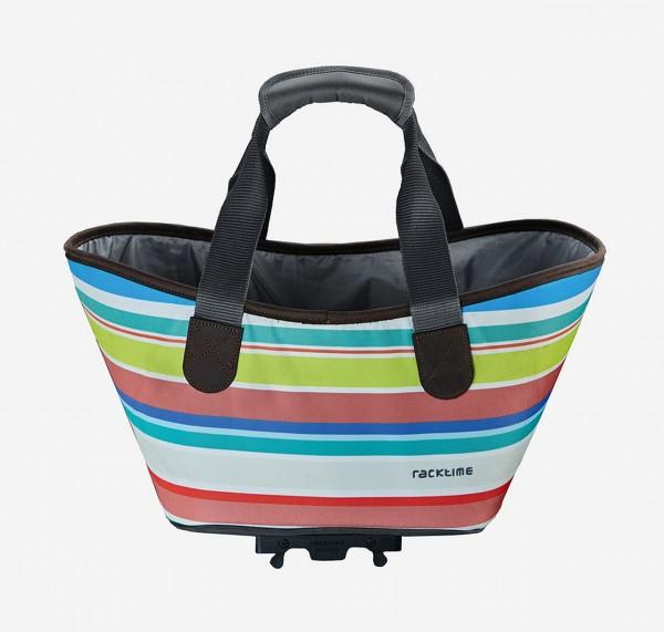 13424 Agnetha Fahrradtasche, Racktime, Snap-It, 34 × 25,5 × 37 cm, 15 Liter, sweet candy