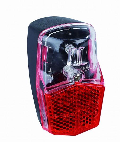 01335 LED Rücklicht FL12, Standlichtfunktion, Schutzblechmontage, Push & Pull-Stecker