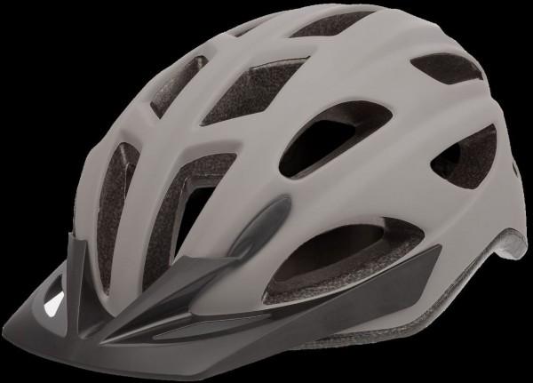 """33950 Fahrradhelm """"City Go"""", Gr. M (54-59 cm), Quicksafe, LED-Licht, 2 Modi, grau-matt"""