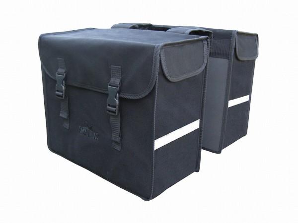 13596 Doppelpacktasche Canvas, 33.5 Liter, wasserdicht, schwarz
