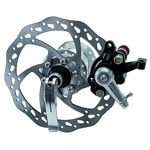 03114 Set Scheibenbremse mechanisch, inkl. Bremsscheibe, Nabe, Bremskörper, für VR