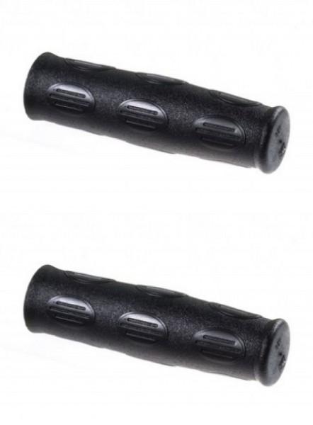 08108 Griff, Fahrradgriff, Stück (120 mm), schwarz