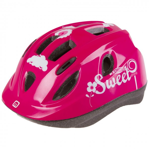 33825 Fahrradhelm Junior SWEET, 48-54 cm, Größe XS, Kinder-/ Jugend-, In-Mould, Ringsystem, Reflex