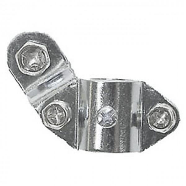 01805 Dynamo-Halter für Hinterradstrebe, verchromt
