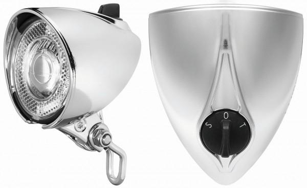 01226 Lumotec Classic SensoPlus, 25 Lux, Schalter & Sensor, LED, verchromt