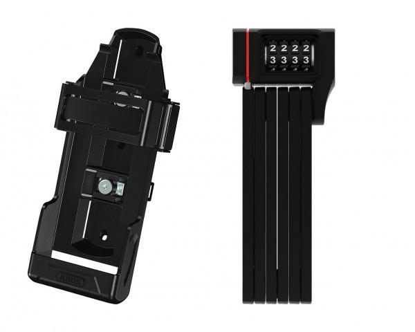 25179 Falt-Schloss uGrip Bordo 5700 Combo, 80 cm, SH-Halterung, Zahlencode, schwarz