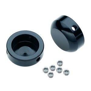 16688 Lenkerstopfen, Aluminium, mit Lock-System, Ø 22 mm, schwarz