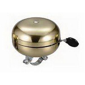 07450 Ding-Dong/ MESSING-Glocke Tombak, Ø 83 mm, obere/ untere Schale aus Messing