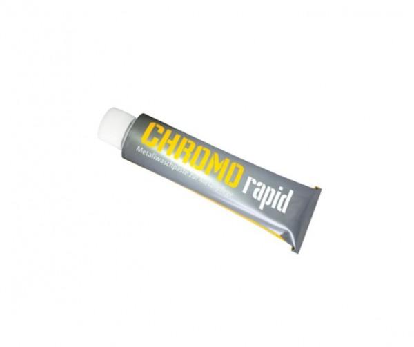 300220 Chrome Rapid von hanseline, pflege für alle Metalle und Lacke, pastös, weiß, 150 ML Tube