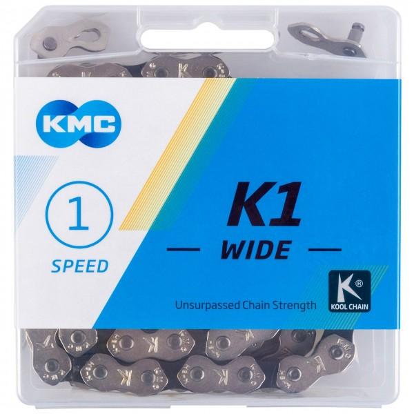 10109 Kette K1 Wide, 1/2 x 1/8, 112 Glieder, Single-Speed, BMX, Trial, verchromt