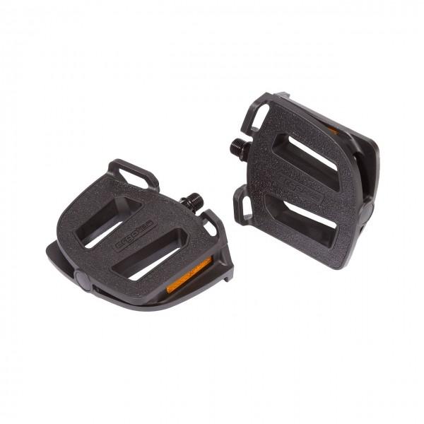 20119 Pedale, Ergotec EP-2, ergonomisch, 122 x 102 mm, komfortabel, rutschfest, hochwertig, Humper