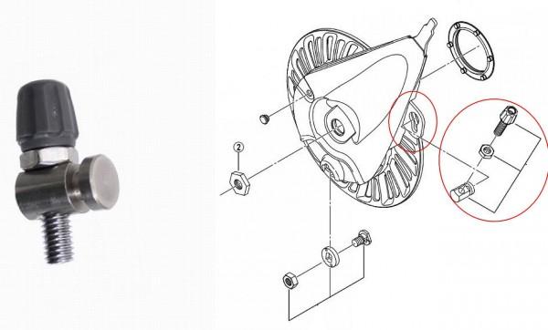 60804 Original Shimano Einstellschraube für Bremszug Rollerbrake BR-IM80F etc