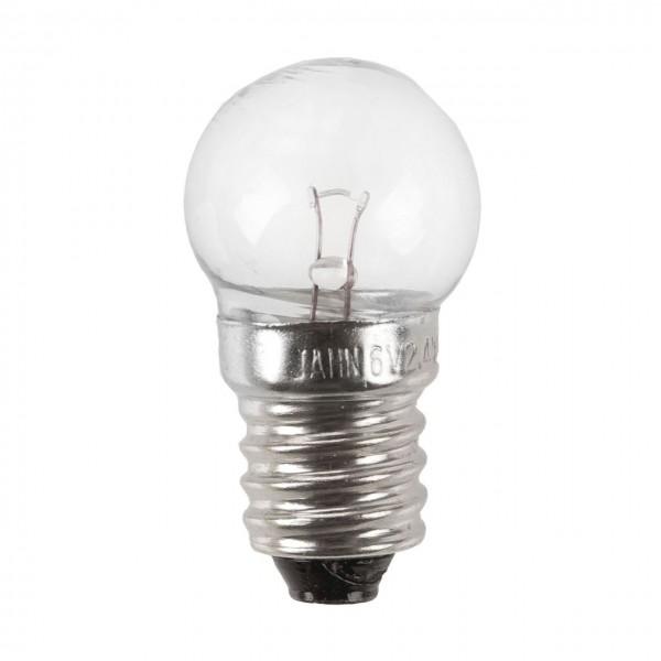 01924 Scheinwerfer Glühlampe, 6 Volt / 2.4 Watt, Schraubsockel E10
