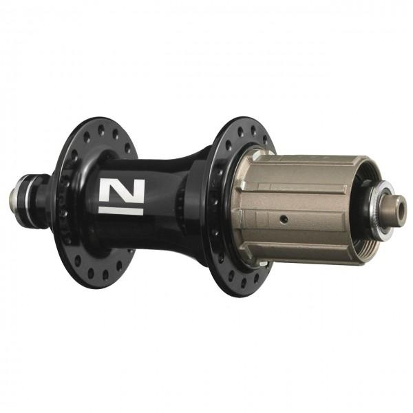17350 HR-MTB-Nabe, Novatec, für 8/9/10/11-fach-Cassette, 36 Loch, Schnellspanner, matt-schwarz
