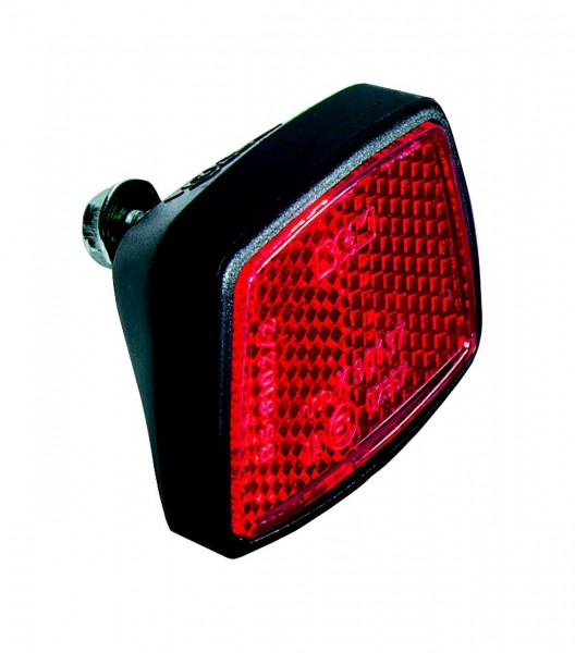 01524 Heckreflektor, rot, klein, Direktbefestigung am Schutzblech