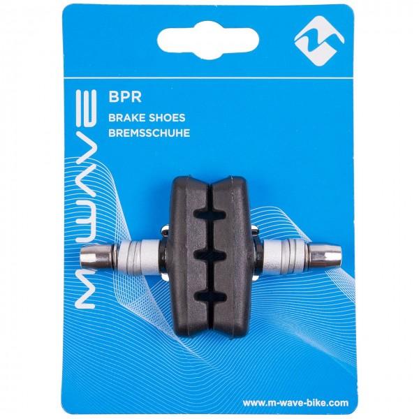 03547 V-Brake Bremsschuhe, 55 mm, BPR-T, Bolzen mit Gewinde, für Stahl/ Alu-Felgen, auf Karte