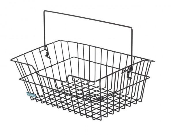 54117 HR-Korb grobmaschig, abnehmbar, 39 x 30 x 17 cm, schwarz, Wire Basic