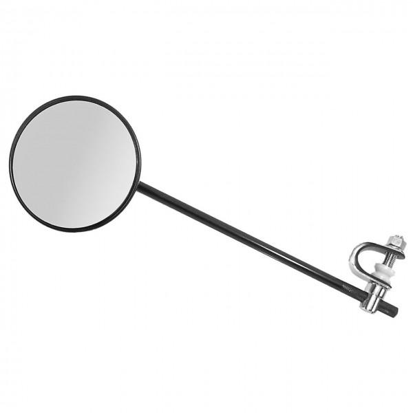 16672 Fahrradspiegel/ Mopedspiegel, Ø ca. 105 mm, schwarz