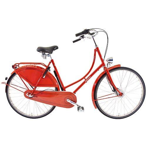 901357r Rossborn Plezier Nostalgie, Shimano Nabendynamo+Rollerbrake, Shimano 3 Gang, Damen, 57 cm