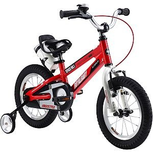 "12"" Kinderfahrrad Space No. 1, Royal-Baby, ALUMINIUM, in rot, orange oder schwarz"