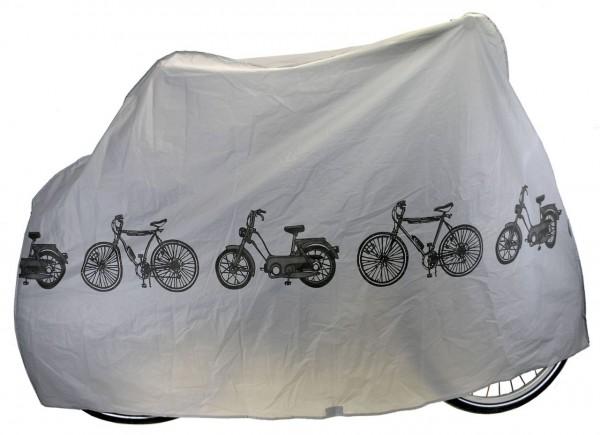 19502 Fahrradgarage, 200 x 110 cm, silber