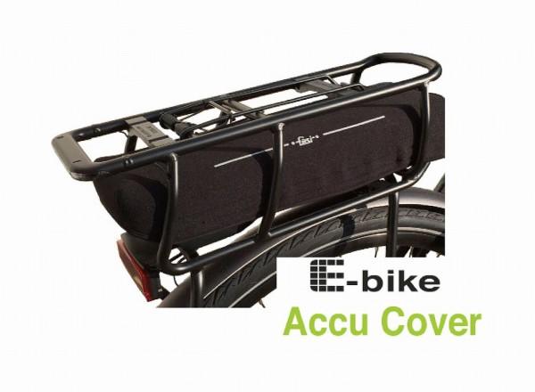 13108 E-Bike Akku Cover Gepäckträger, hochwertigem Neoprene, für BOSCH Powerpack 300/400/500