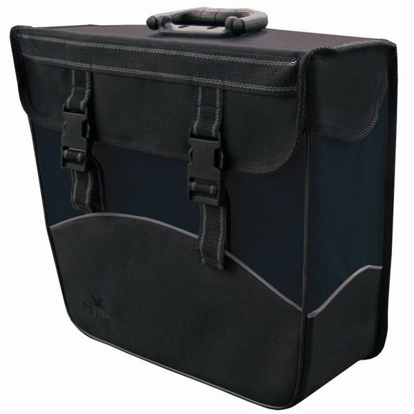 13584 HR-Seitenpacktasche, Links, 20 Liter, wasserdicht, schwarz