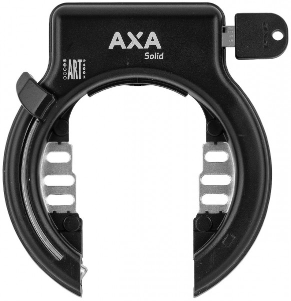 25373 Rahmenschloss AXA Solid, Rahmenbefestigung, schwarz