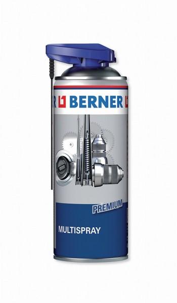 19243 Premium Multispray, hervorragende Schmierung, Rostlöser, Kontaktspray, Korrosionsschutz, Pfleg