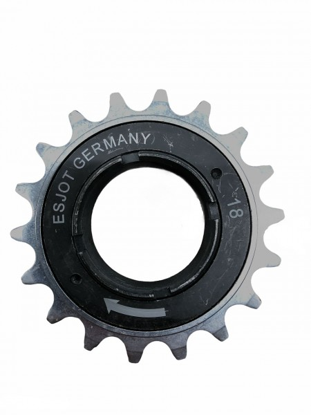12060 Freilauf-Zahnkranz, 18 Zähne, BSA-Gewinde, für BMX, Single-Speed etc.,
