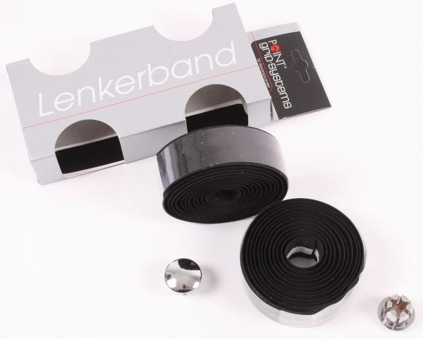 08145 Lenkerband, Kork, Set, schwarz