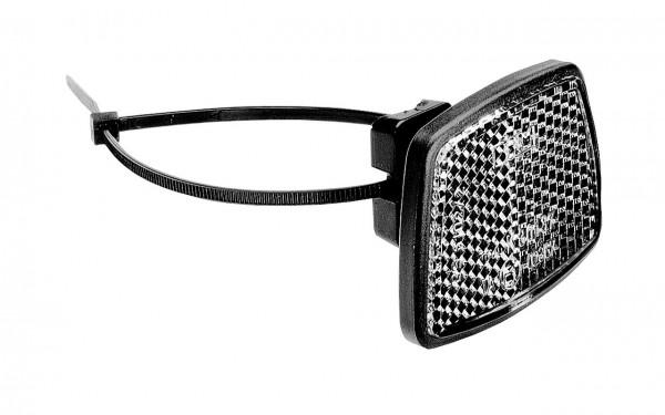 01508 Front-Reflektor, weiß, Universalreflektor, Spannband